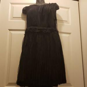 NWT Donna Karan Chiffon Cocktail Dress